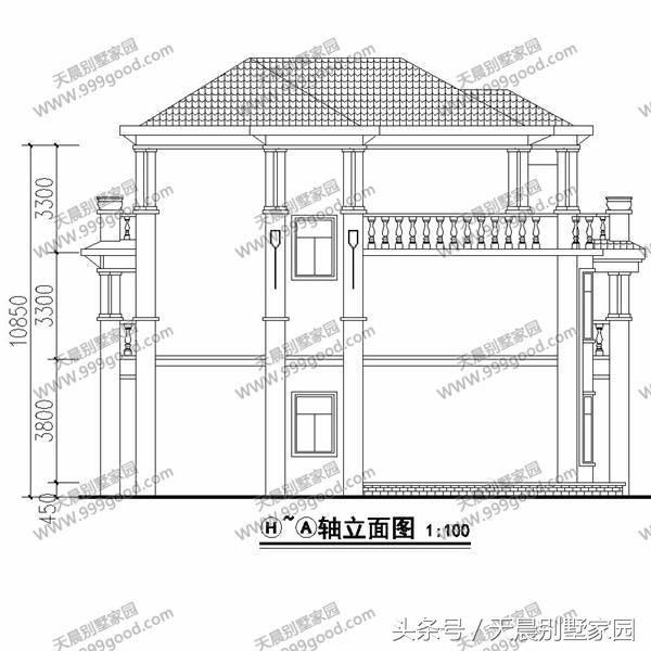 15米15米房屋设计图纸