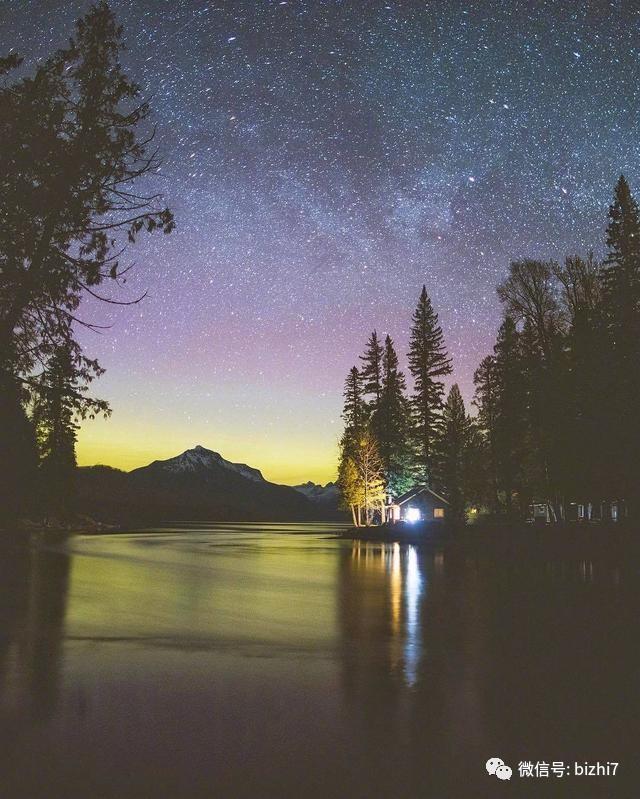 微信头像,唯美夜晚星空风景头像
