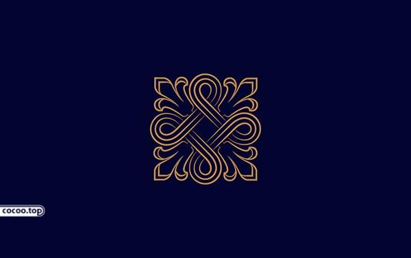 几何图形在标志设计的表现就是利用点,线,面这个三个要素来构成一个