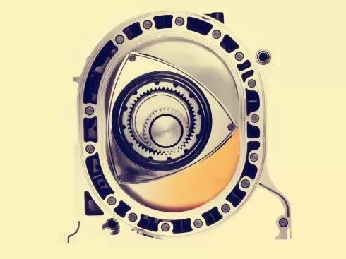 又被称作米勒循环发动机,为三角形的型式,把一般发动机的直线变为旋转
