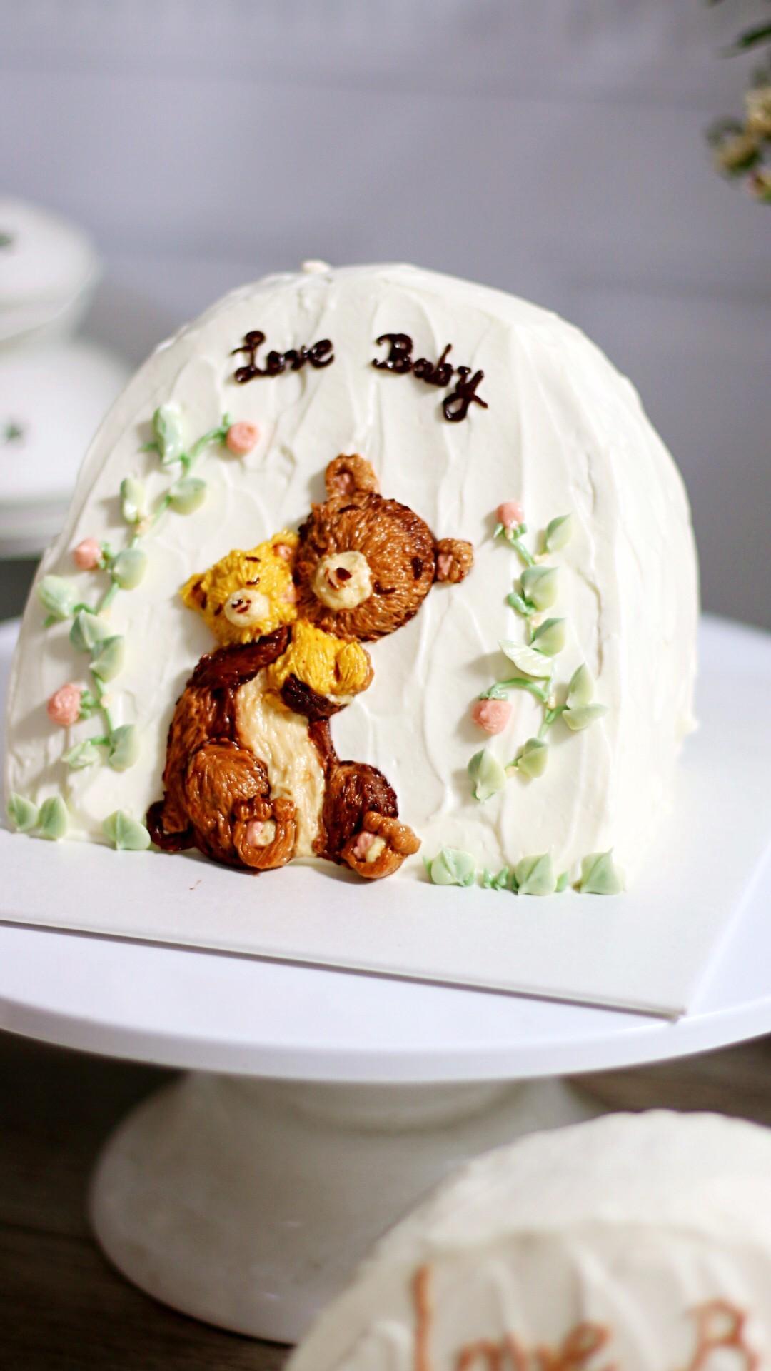 妈教你制作汽车蛋糕,圆宝宝一个汽车梦