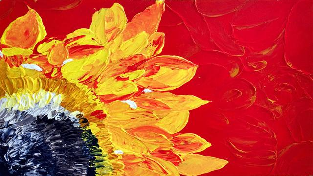 用硅质颜料画画是什么体验 真的比丙烯颜料好用