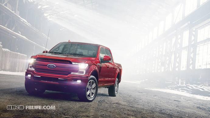 新增3.3L发动机 福特正式发布2018款F 150皮卡