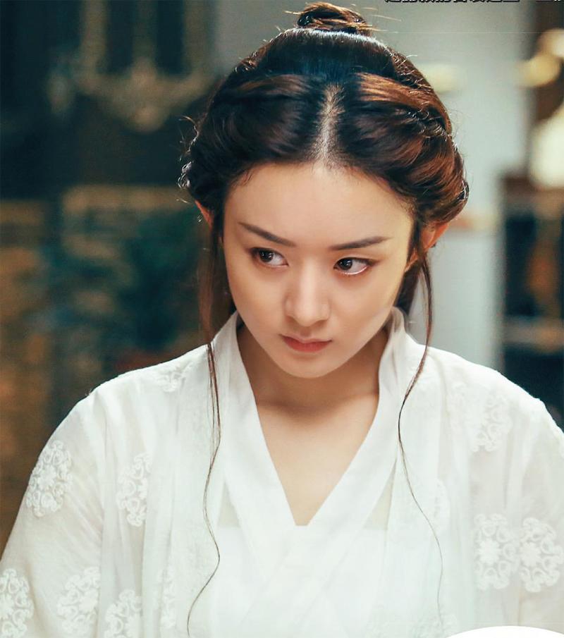 赵丽颖在《楚乔传》中的表现远超花千骨?