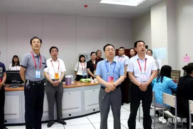 乔云深入岚县中学考点巡视指导中考工作图片