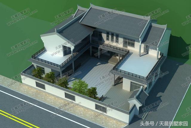二套连体别墅设计图