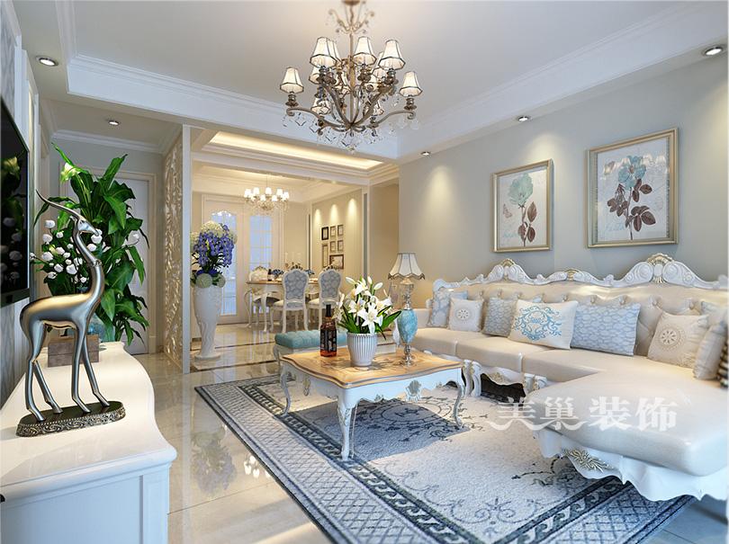 南阳新婚婚房5号楼三室两厅两卫135平装修案例——平面设计方案