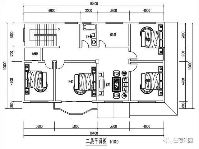 实拍农村自建房16x10米,300平,户型方正实用!图片