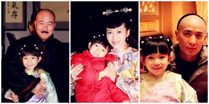 干妈和干姐_2岁出道5岁和刘涛合作认刘亦菲做干妈和甜馨争一姐