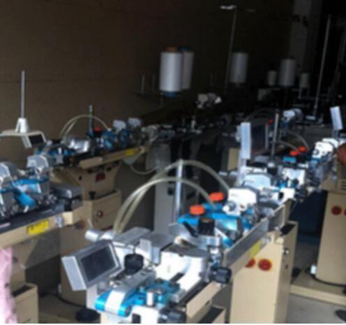 南京卡尔诺袜业以高标准租售新型袜子机器