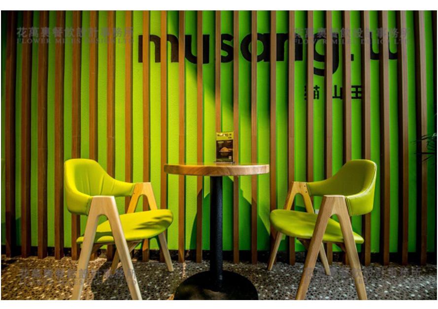 清新的淡绿色给人小清新之感,深浅的绿叶呈现一片生机.