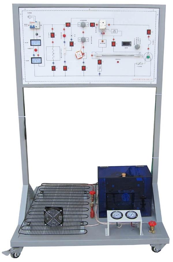 制冷电路电气控制实训板,制冷电路电气控制台