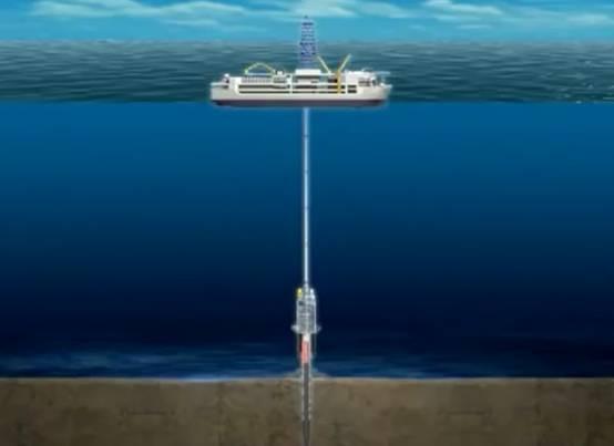 揭秘:人类在3000米深的海底如何钻井?图片