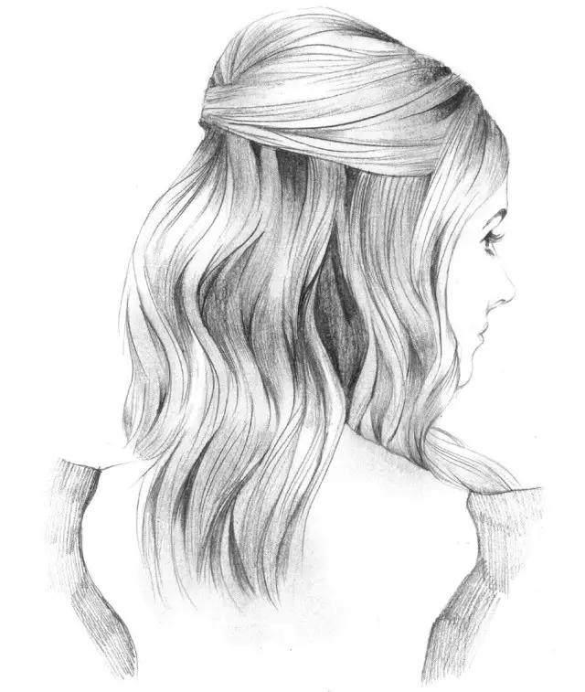 女神手绘发型炼成记,详细步骤每天一款!