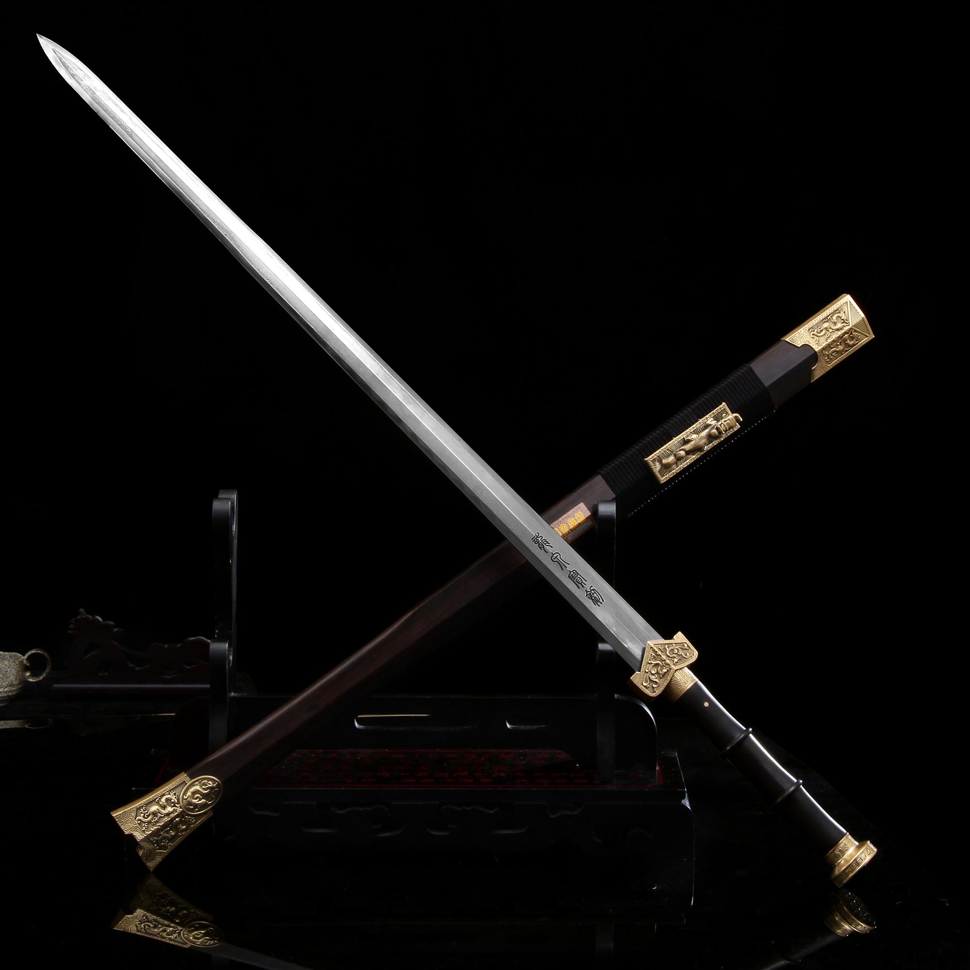 剑_看了这款汉剑,才知道什么是真正的帝王贵族佩剑