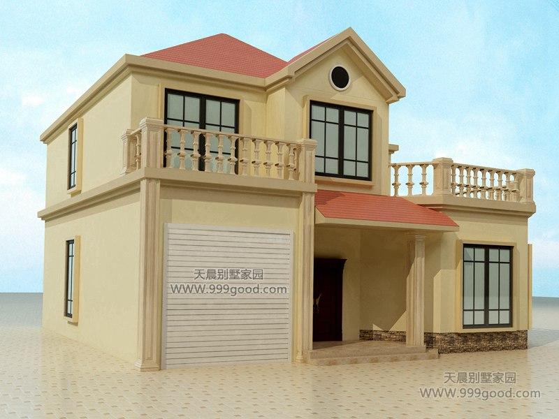 12.9米x11米二层别墅设计图