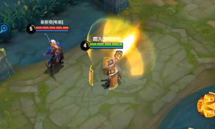 搜狐公众平台 王者荣耀英雄技能放慢后,吕布的大跳出屏幕