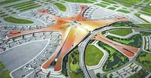 世界上航�y�l:a�_世界最大的钢结构建筑北京大兴新机场航站楼封顶