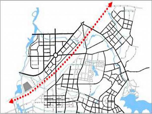 长春净月交通规划图