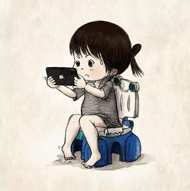 有妈妈跟孩子约定,每次玩儿手机不要超过20分钟,但到时间了把孩子从