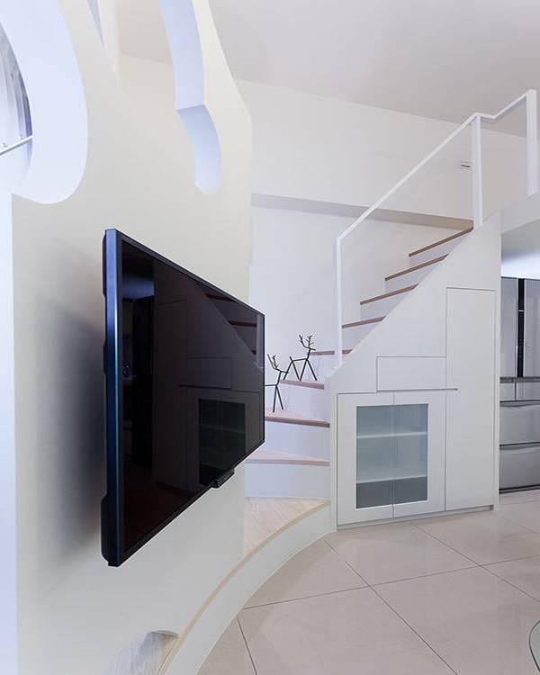 客厅楼梯装修效果图大全图片