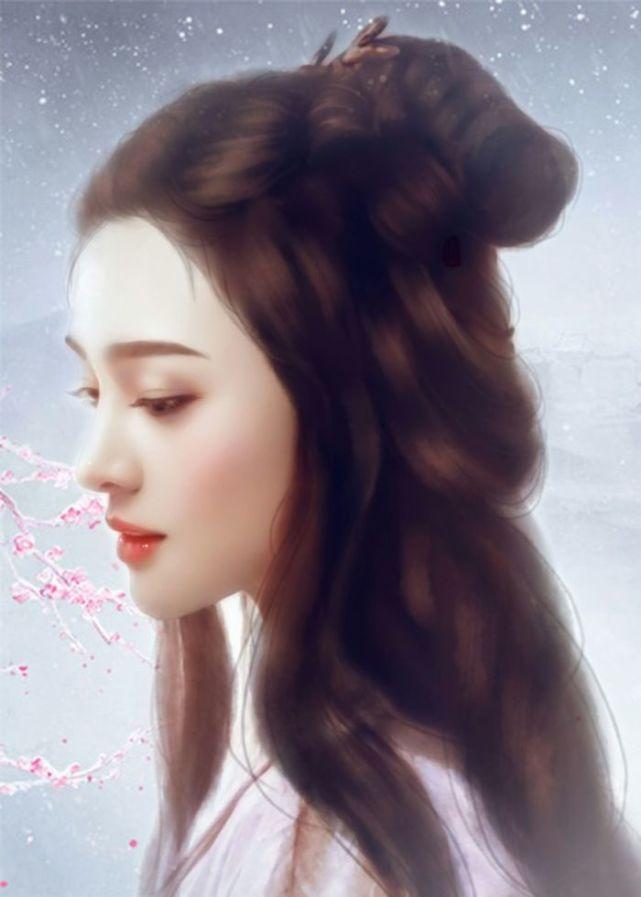 古装手绘中最美的十位女星,热巴第三,她国色天香