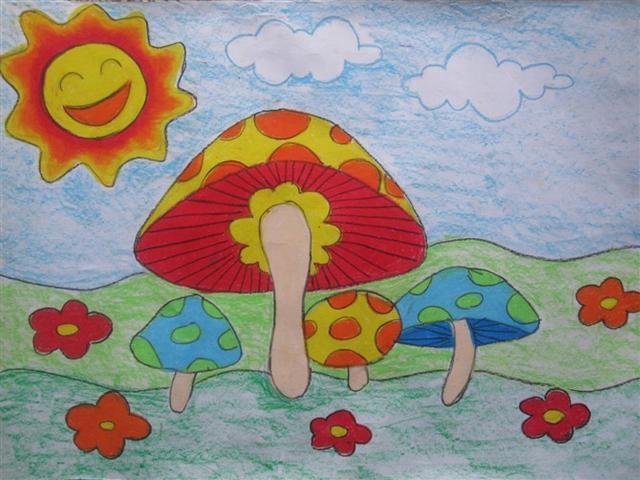 漂亮的优秀儿童画,给孩子留着