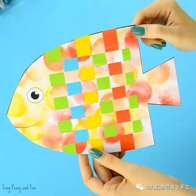 幼儿园创意亲子手工(kidsdiy95)