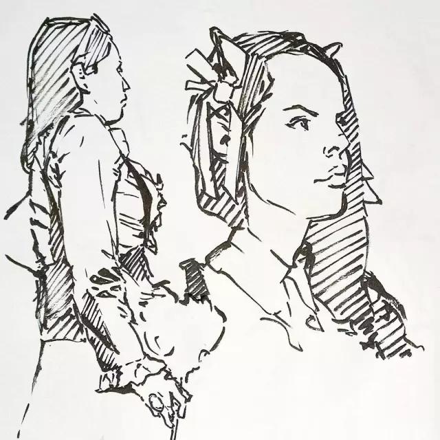 简笔画 手绘 线稿 640_640