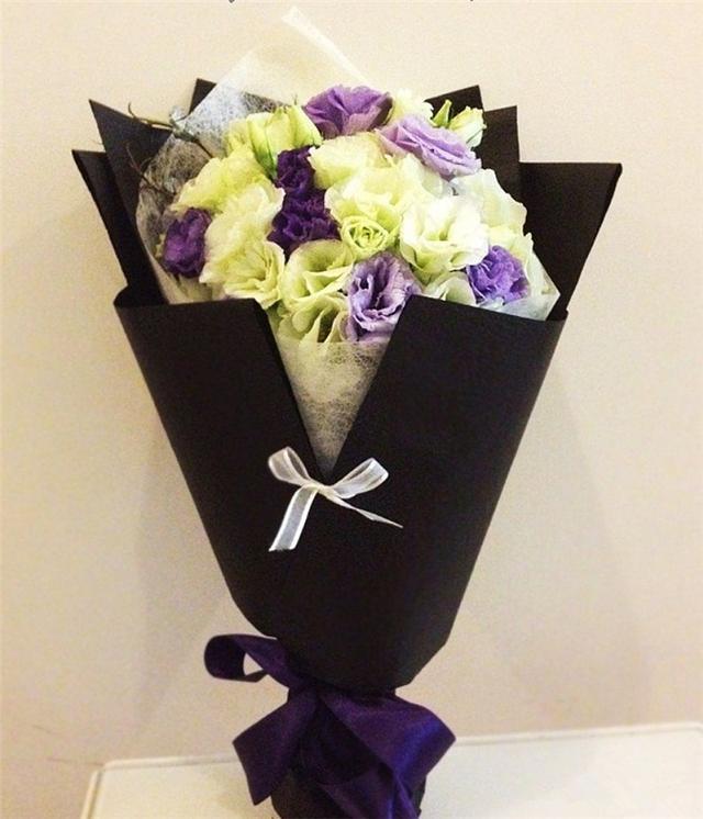 花束包装分享——韩式花束