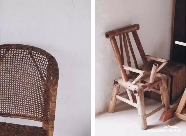 还是极具本地特色的幼儿椅 都能在西坡千岛湖找到他的位置 ▲ 改造