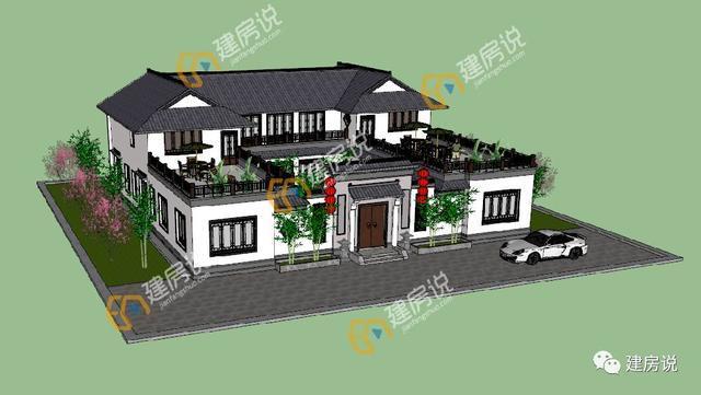 村墅记│6款新中式别墅,传统与现代完美融合
