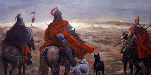 燕云十八骑,一支活在传说中的魔兵悍将