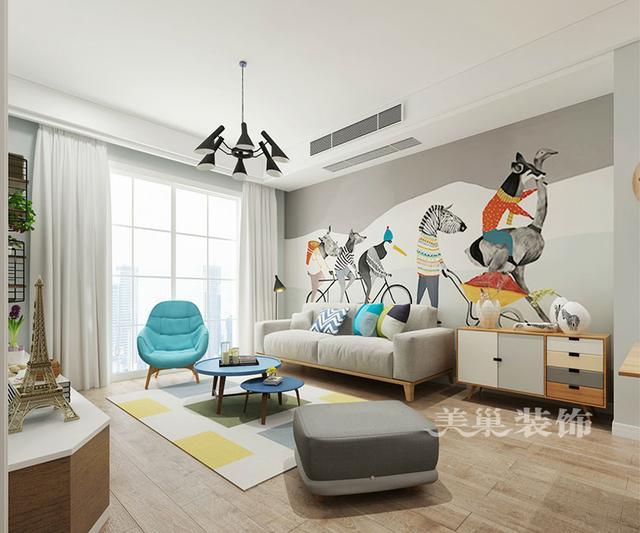 安阳85平两室,简欧风格,整体只刷白墙也这么美图片