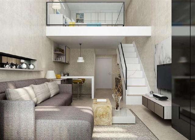 复式公寓楼装修效果图