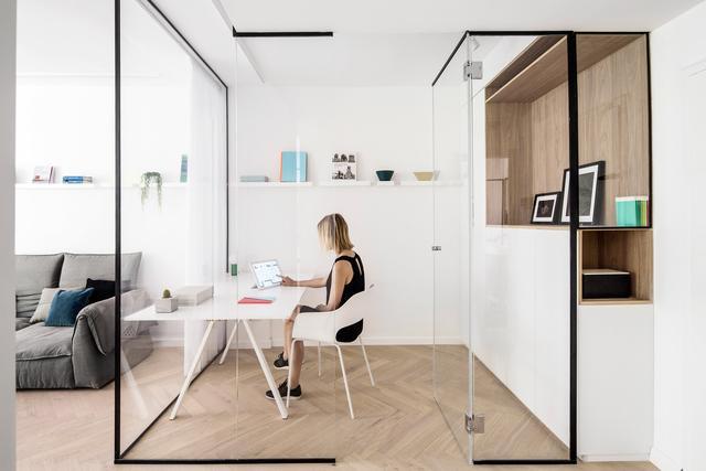 70平方米小豪宅造出实物感这装修设计无敌了平面设计房子有什么图片
