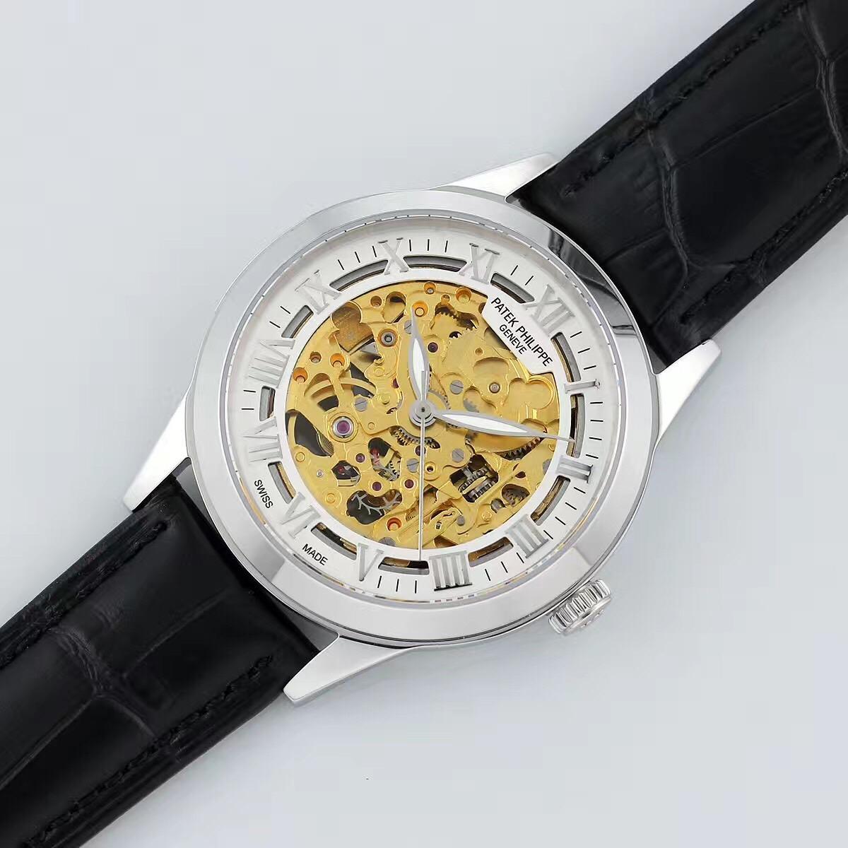 成熟男士需要拥有一款大气简约的百达菲丽机械腕表