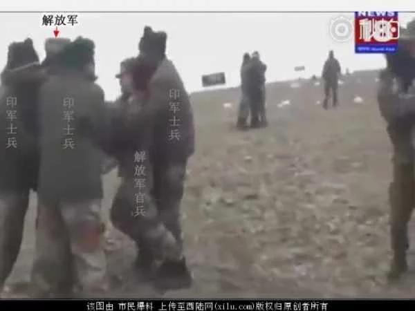 中印对峙现场视频曝光,印军拼命阻止中国修路