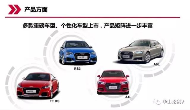 奥迪品牌将迎来中期改款A6L   据 2019年预计投放12款新品,其中