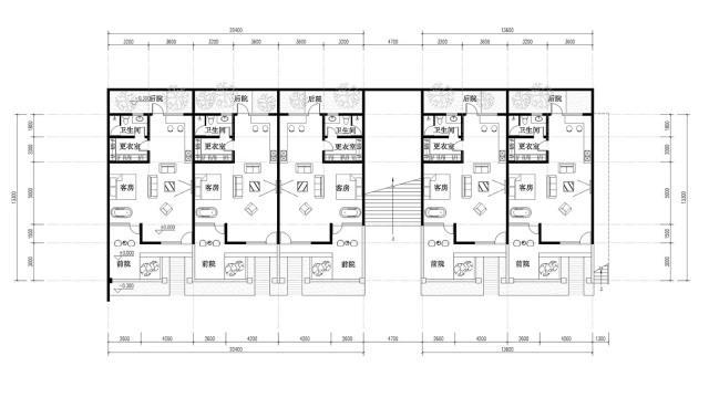 △酒店一层平面图