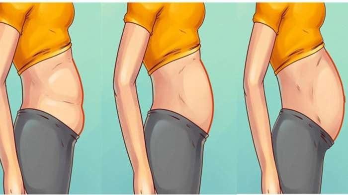 女人肚子太大了要怎么减肥