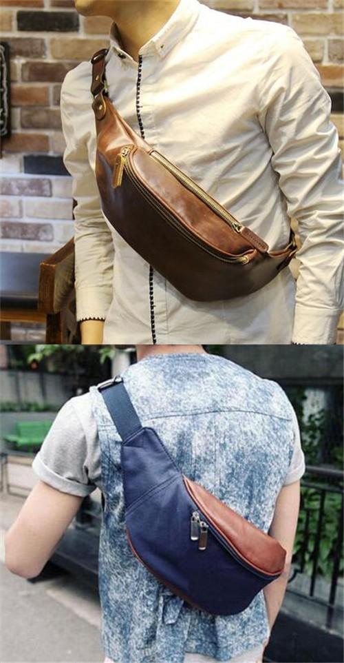 胸包背法 —— 男士胸包怎么背好看呢?圖片