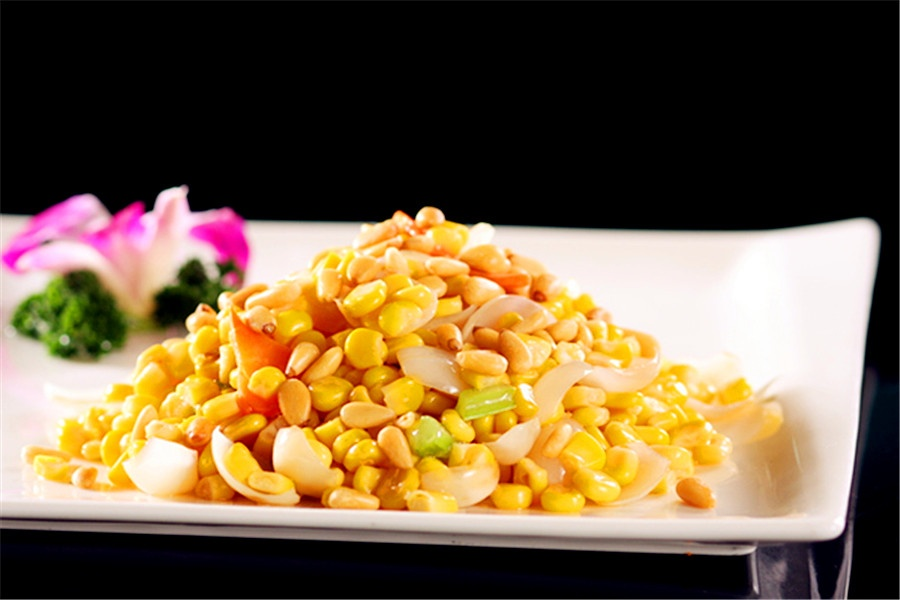 美食本草&松仁篇之十四:玉米美食炒药膳什么常宁市百合有图片