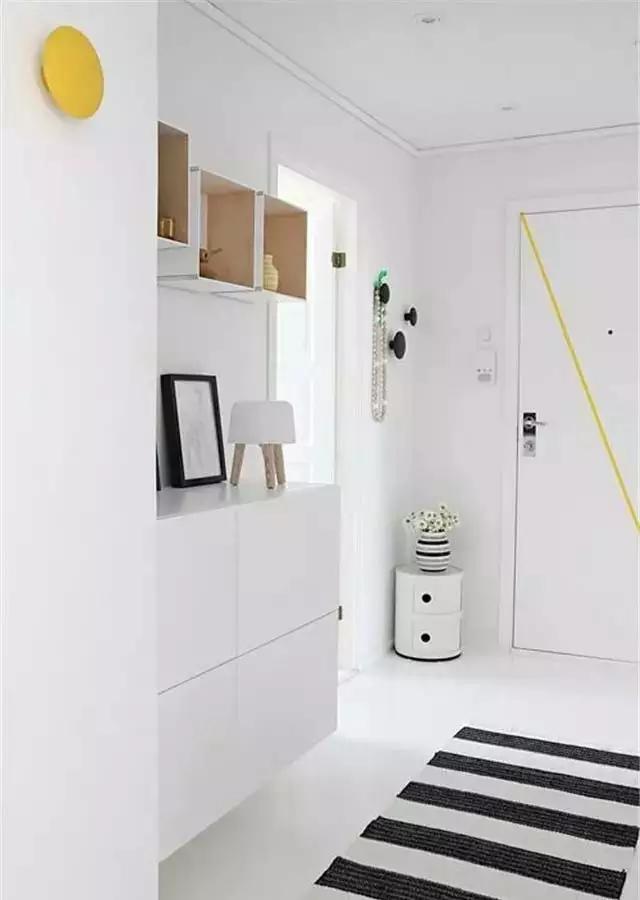 玄关鞋柜都能设计的这么美,设计师真的是蛮拼的!