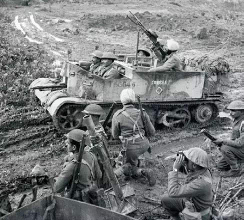 连意大利都嫌弃!印度军人在二战中遍布世界战场
