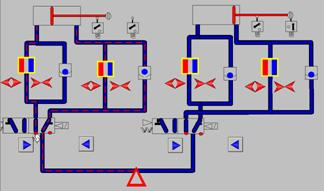 液压与气动PLC控制装置 工业带组态软件图片