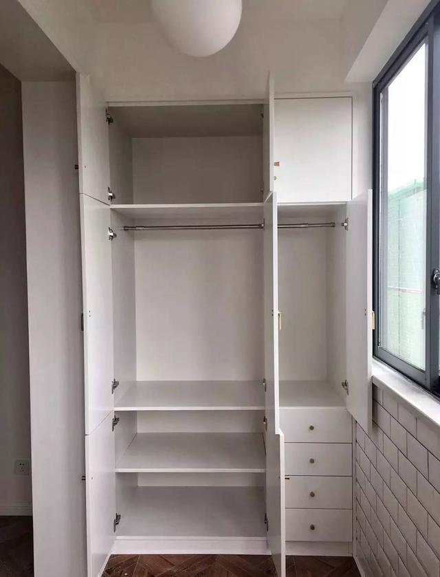 衣柜内部结构图,快来收藏