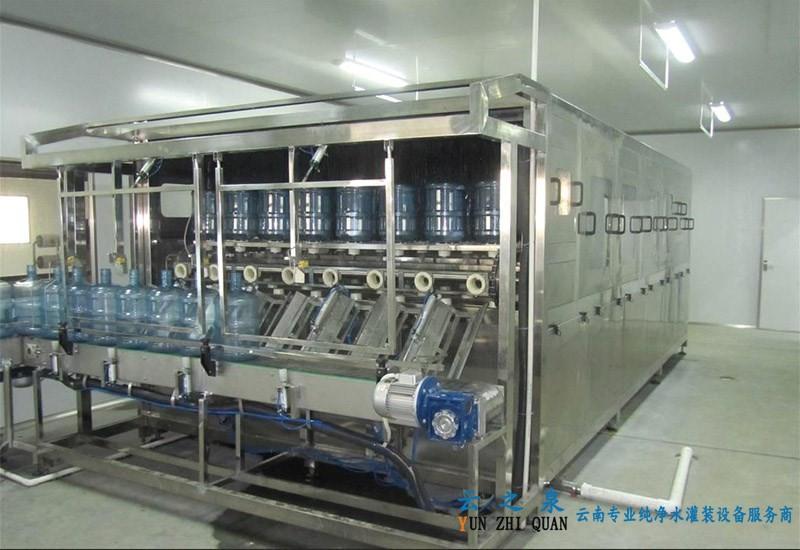 桶装水设备|600桶全自动桶装矿泉水生产线-全自动灌装机