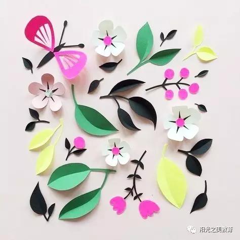 纸花朵 制作 步骤 图解