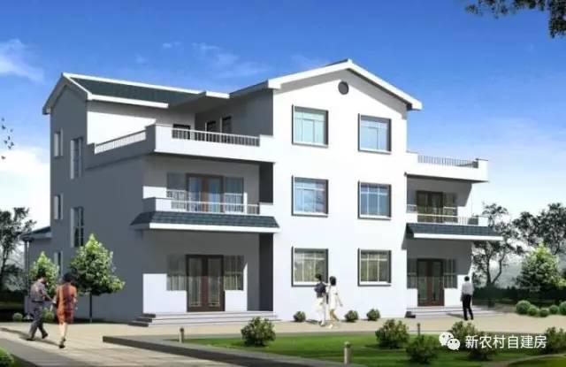 40款三层农村别墅效果图,全套施工图,各种风格,欧式的,中式的, 经济